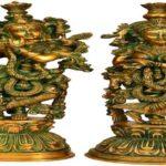 चोरों का मूर्ति प्रेम फिर लूटी गई अष्टधातु की कृष्ण राधा की मूर्ति