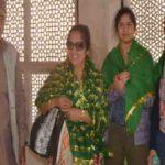 राज्यपाल की बेटी और दामाद सलीम चिश्ती की दरगाह पर