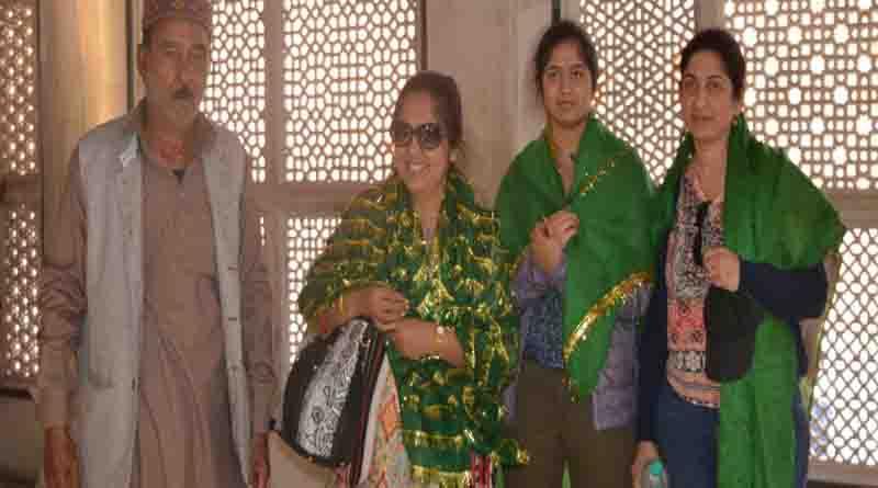 rajyapal daughter in saleem chisti dargah