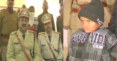 Ambedkarnagar police recovered child safe