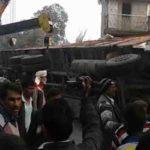 फैजाबाद में ट्रक का हादसा ,2 लोगो की मौत