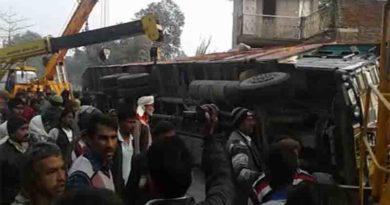 accident in darshan nagar faizabad