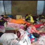 यूपी में कोहराम – बच्चो और महिलाओं का गला काटा,11 लोगो की हत्या