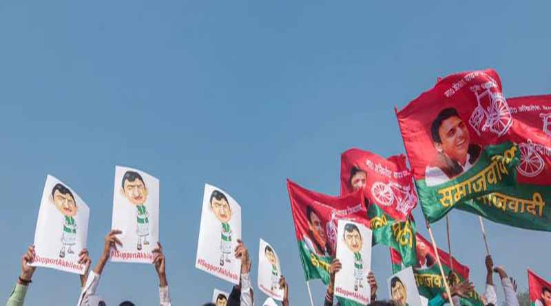 ballia sapa worker against samjawadi party