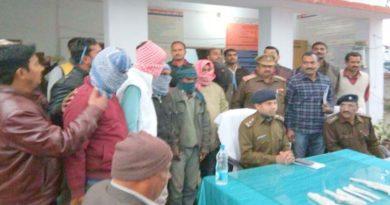 basti police caught wine factory