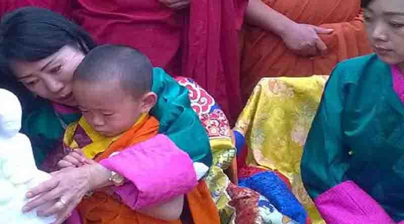 bhutan prince in nalanda