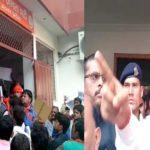 टिकट ना मिलने से नाराज कार्यकर्ताओं ने बीजेपी मुख्यालय पर किया हंगामा