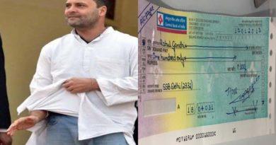 ghaziabad charter accountent give rahul gandhi 100 dd for trol kurta