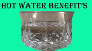 how much benefits of hot water