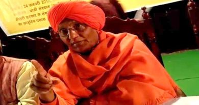 lucknow swami agnivesh support on wine ban and save water