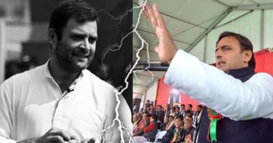 no alliance between samajwadi party and congres