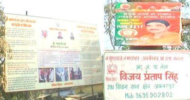 officers not follow the model code of conduct ambedkarnagar