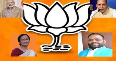 parivar members and associate leaders feagure in bjp list