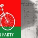समाजवादी पार्टी  की तीसरी लिस्ट, कुछ का टिकट कटा
