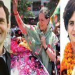 सोनिया, प्रियंका और राहुल होंगे कांग्रेस के स्टार प्रचारक