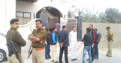 thief in mathura targeted the home of high court judge of theft