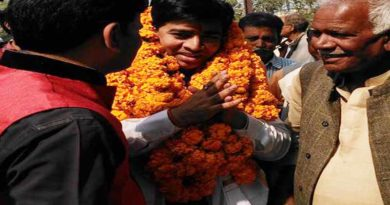 BJP candidate Sikandarpur Sue for code of conduct