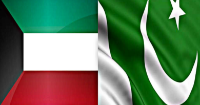 Kuwait ban pakistan and other five counrty for safety