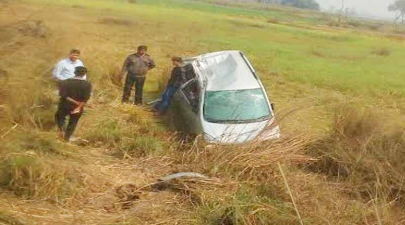 accident of family Returning from wedding ballia