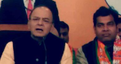 arun jaitly attack on sapa and congress