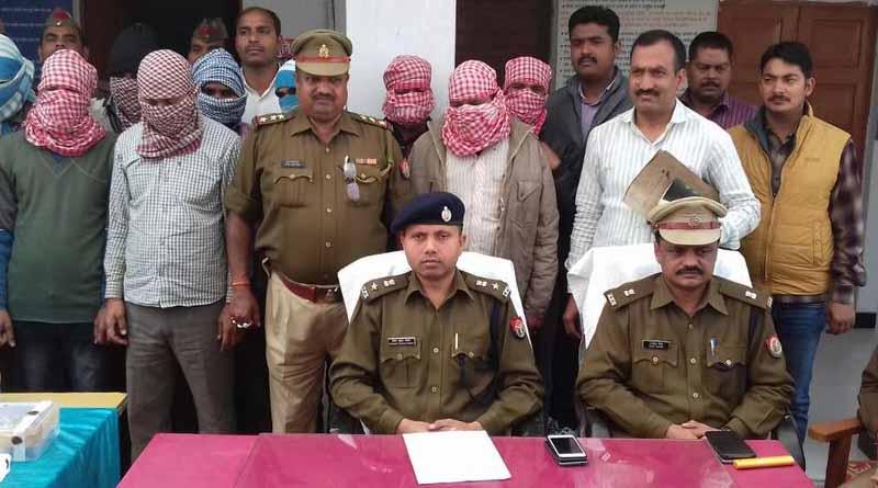 basti police arrest bawariya gang 10 criminals and recover arms