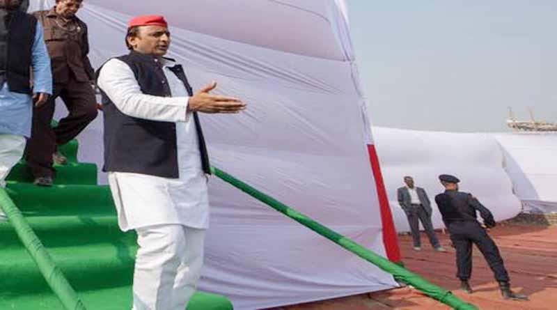 big attack on akhilesh yadav from bjp candidate