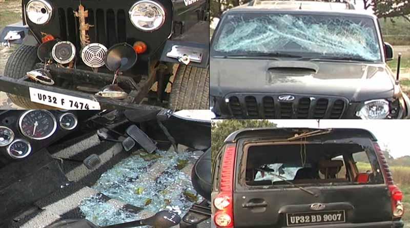 broken car by ajay sipahi