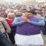 बसपा प्रत्याशी ने उड़ाई चुनाव आयोग के आदेश की धज्जियाँ