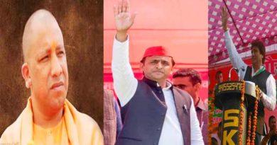 campaign in Barabanki akhilesh yadav yogi adityanath and raj babbar