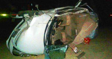 car accident barabnki