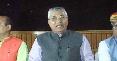 central state minister statement on ram mandir