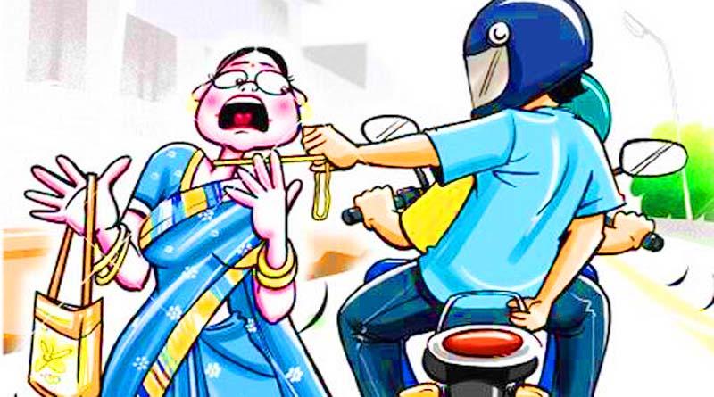 chain snatching from women barabanki