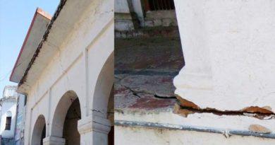 faizabad nagar nigam sivar line broken the houses