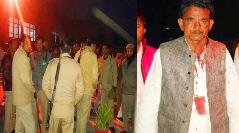 firozabd sapa and bhajpa worker attack