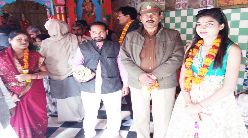 nishi kumari miss jharkhand ayodhya darshan