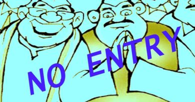 no entry for political leaders in ballia village