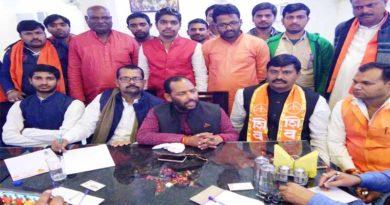 no relation from bjp shivsena ayodhya
