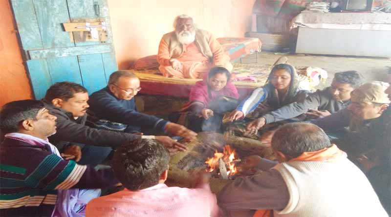 peoples do ritual for election victory of nationalist forces