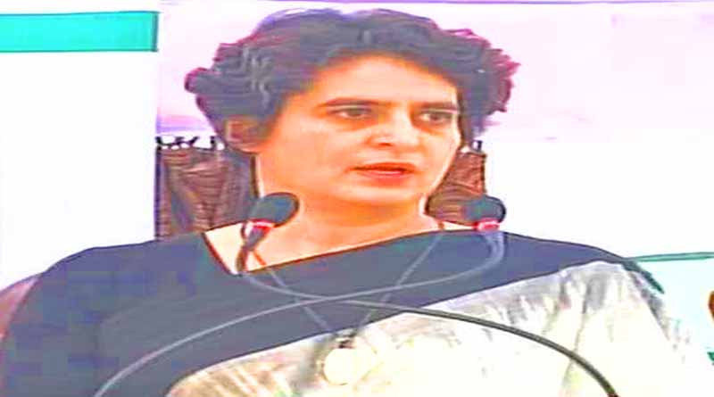 priyanka gandhi statement on narendra modi