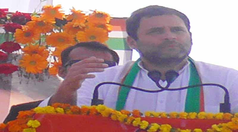 rahul gandhi given statement against rahul gandhi basti railly