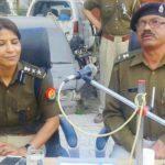 पुलिस ने लोगों के साथ की शान्ति बैठक