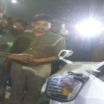 बसपा कार्यकर्त्ताआें के काफिले पर हमला