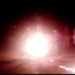लखीमपुर में इसलिये लगा कर्फ्यू ,आगजनी के बाद चली गोलियां