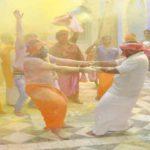 रंगभरी एकादशी पर नागा साधुओं ने यहां खेली, भगवान के विग्रह के साथ होली