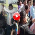 फैजाबाद में NGO को फर्जीवाड़ा करना पड़ा महंगा, महिलाओं ने की पिटाई -देखिये विडियो
