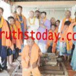 मुस्लिम समुदाय के लोगो की घर वापसी शुरू , दी गई हिन्दू धर्म की दीक्षा