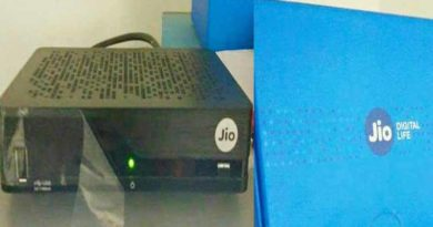 reliance jio set up box