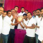 फैजाबाद में इलेक्ट्रॉनिक मीडिया और प्रिंट मीडिया ने खेला क्रिकेट मैच,इलेक्ट्रॉनिक मीडिया ने जीता मैच