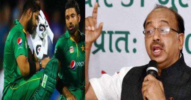 vijay goel on pakistan cricket match