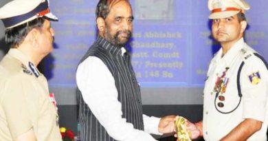 crof asst comandent abhishek yadav and hansraj ahir